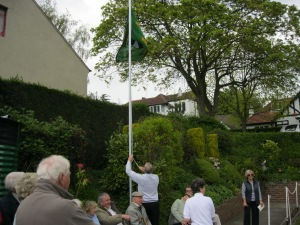 Flag raising 080510 006